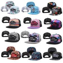 Brand gorras Vans Snapback Caps mesh baseball hats hip hop Street Vans Warped Tour Trucker Hat Cap Off The Wall bone Snapbacks(China (Mainland))