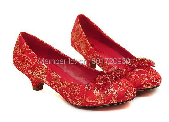 Aliexpress.com : Buy 2013 women pumps low heels wedding bridal ...