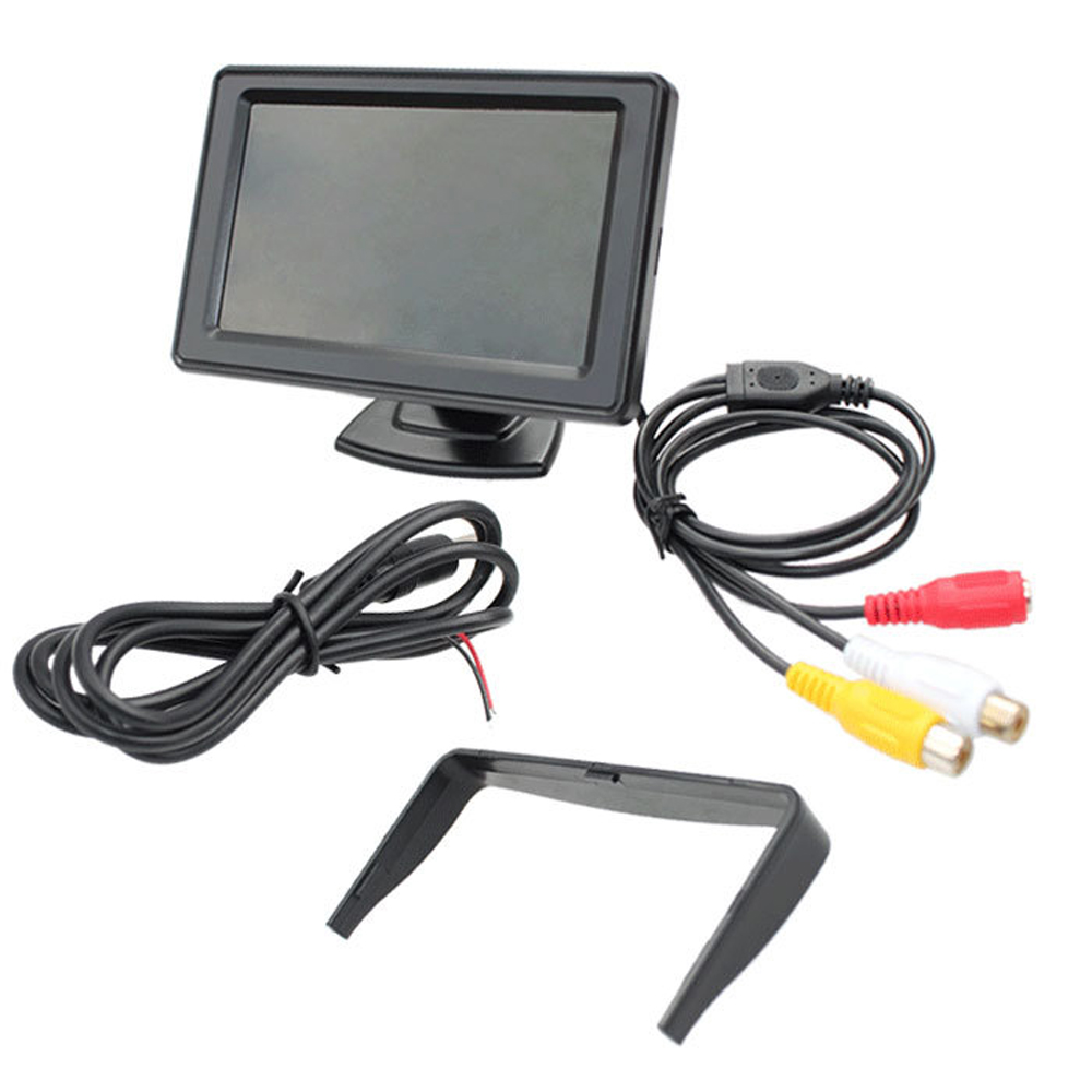 "4.3"" inch LCD TFT Car Rear View Monitor for Backup Reverse Camera DVD VCD(China (Mainland))"