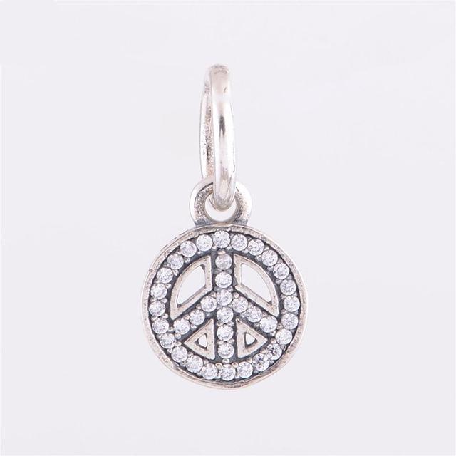 Подлинная стерлингового серебра 925 бусины мотаться PendantFits пандора браслета ожерелья DIY бесплатная доставка