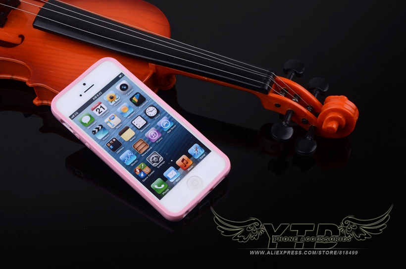 Lovely Candy Colors Soft Plastic Case For Apple iPhone 5 5G 5S / 5SE 4.0″ TPU Gel Silicon Cover Phone Protective Cases