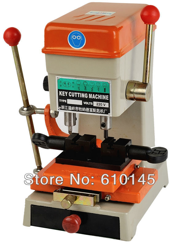 368A key duplicating machine 200w key cutting machine drill machine to make keys locksmith tools(China (Mainland))