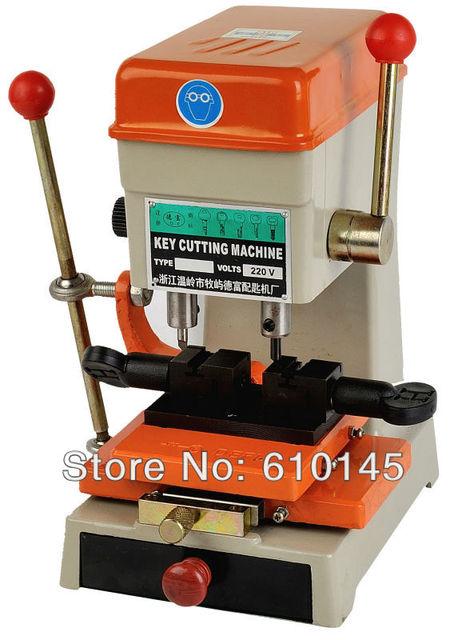 368A key duplicating  machine 200w key cutting machine drill machine  to make keys locksmith tools free shipping