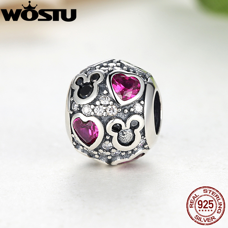 Hot Sale 925 Sterling Silver Hearts Charms Fit Original Bracelet Pendant For Women Authentic Jewelry(China (Mainland))