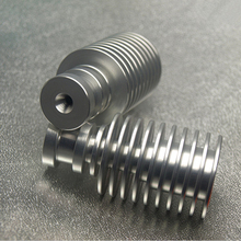 3 D printer accessory for . hotend V5 Heatsink - Direct Filament Feed (1.75mm Or 3MM ) top quality free shipping(China (Mainland))