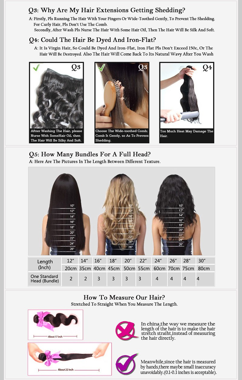 Longjia Hair 4 7A