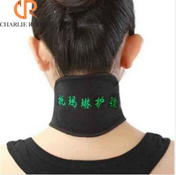 New TourmalineProtect the Cervical Magnetic Therapy Neck Spontaneous Heating Headache Belt Neck Massager(China (Mainland))