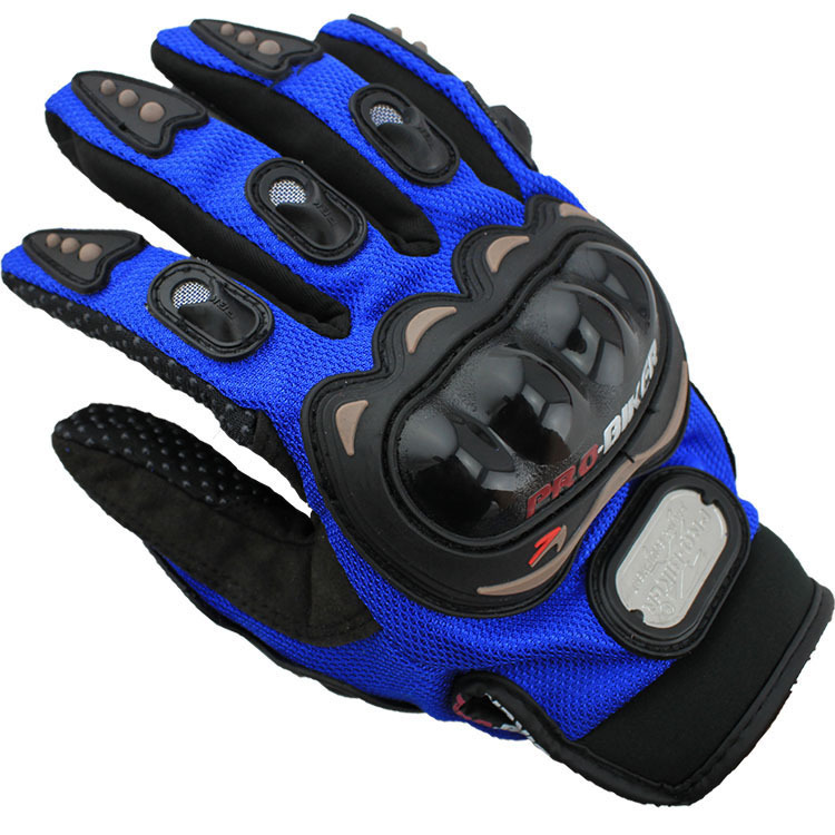 Outdoor Sports Motorcycle Gloves full finger knight riding Motorbike Cycling Racing gloves Breathable Mesh Fabric men