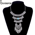 LOVBEAFAS 2017 Fashion Bohemian Maxi Statement Necklaces Pendants Multilayer Collier Collar Vintage Necklace Women Jewelry