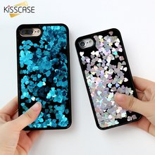 Buy KISSCASE Bling Flowing Glittery Sequins Hard PC Case Cover Iphone 6 6S 7 Plus Luxury Phone Cover Bag Coque Iphone 6S 7 for $2.99 in AliExpress store