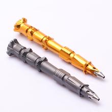 New Fashion Bullet Shape Pendant keychain Multifunctional Survival Defensive Pen Tactical Pen Defensa Personal