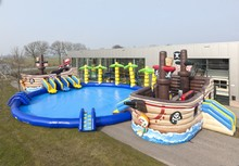 Factory direct inflatable bouncer, inflatable castles, inflatable slides Waterpark THG-0175(China (Mainland))
