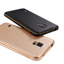Чехол бампер для Samsung Galaxy S5 ультратонкий с алюминиевой рамкой