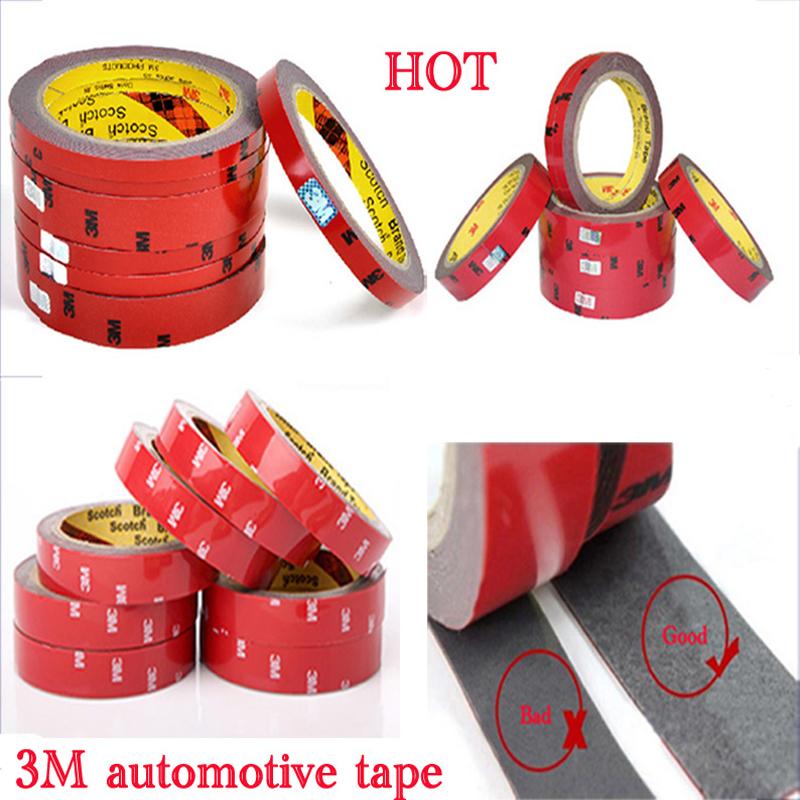 Гаджет  12% off 3M Tape Double-sided tape Width 0.6/0.8/1/1.5/2 mm chose long 3 meter Car Interior Tape free shipping None Автомобили и Мотоциклы