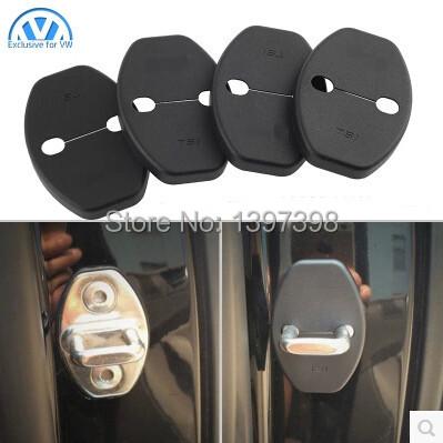 For volkswagen VW JETTA MAGOTAN CC GOLF POLO GOLF 6 passat B4 B6 Lavida Sagitar Bora skoda Fabia Superb Car Door Lock cover(China (Mainland))