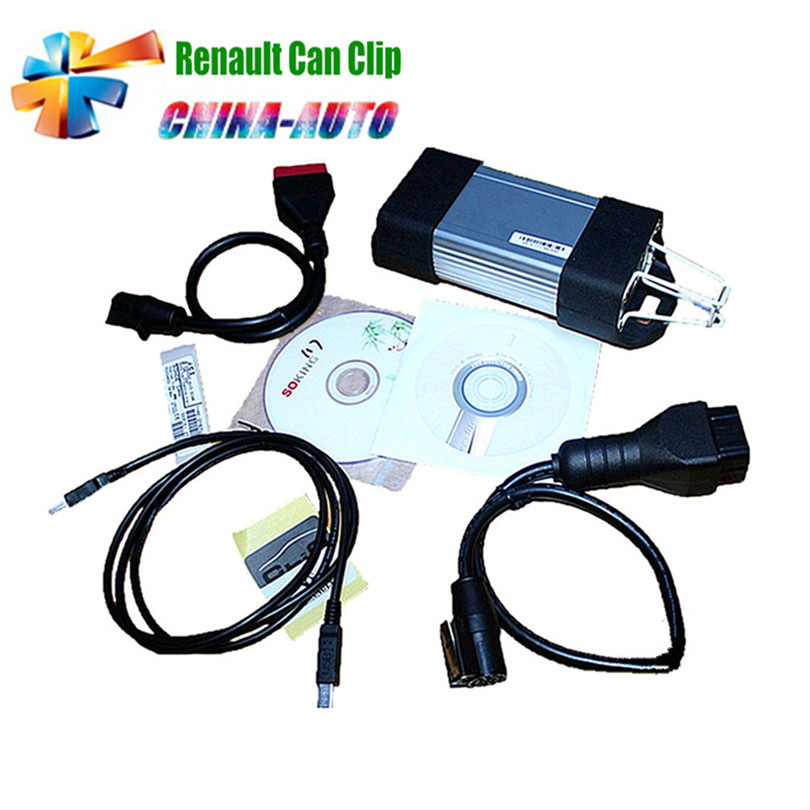 2016 Newest V165 Version Renault Can Clip Diagnostic Interface Support Multi-languages For Renault with lowest price(China (Mainland))