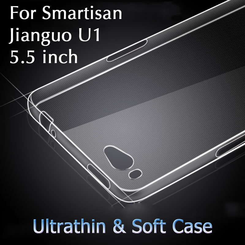 Smartisan U1 YQ601 Case Cover Ultrathin TPU Silicone 5.5 inch Soft Phone Fundas Jianguo Gel - New Mobile Era Technology Co.,Ltd. store