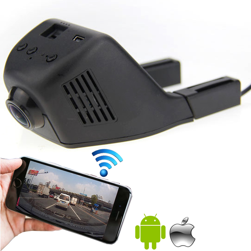 Hidden installation car blackbox 1080P HD video recording wifi connection supported applicable for all cars(China (Mainland))