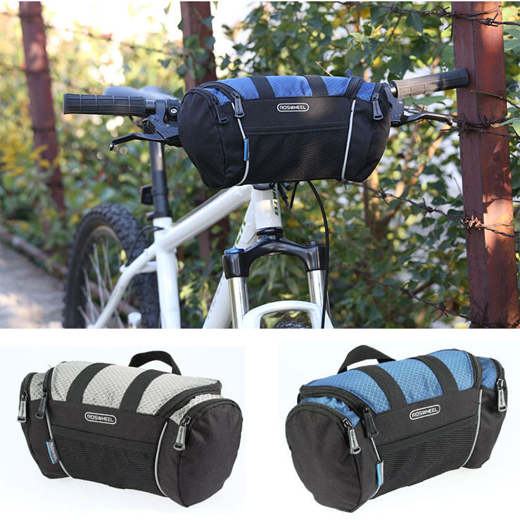 Cycling Bike Bicycle Front Pannier Basket Handlebar Bar Bag Quick Release<br><br>Aliexpress