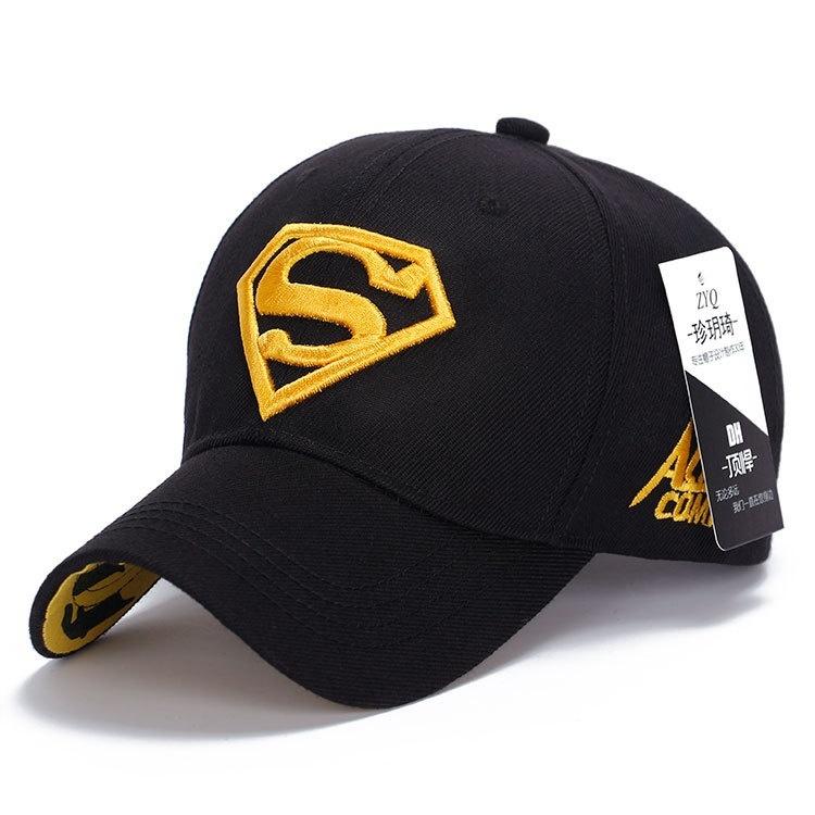 Baseball cap Superman Snapback Hat, Baseball Steampunk Movie Crochet Caps Snapbacks Superman Hats, Basketball Hats for Men Women(China (Mainland))