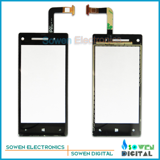 for HTC Accord 8X C620e touch screen digitizer touch panel touchscreen,Black.free shipping,Original,5pcs/lot(China (Mainland))
