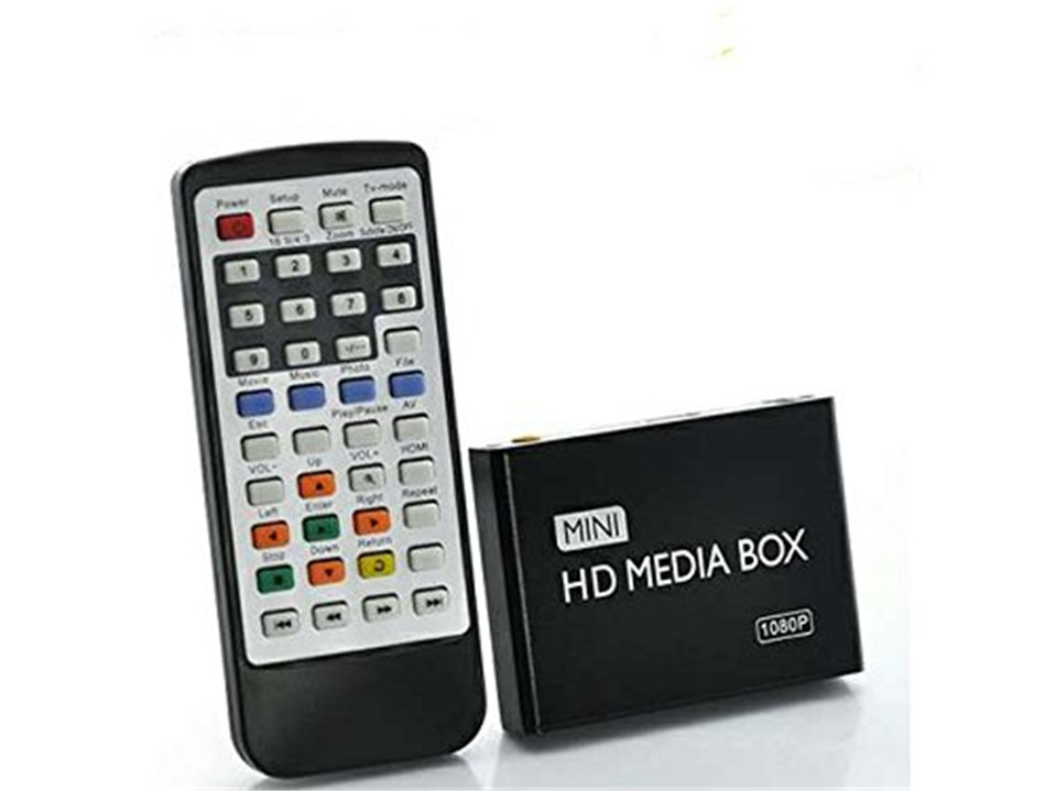 New mini HDMI Media Player 1080P Full HD TV Video multimedia player box support MKV/RM-SD/USB/SDHC/MMC HDD-HDMI(China (Mainland))