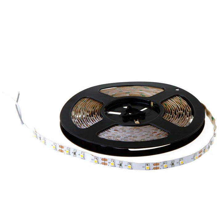 DC 12V led strip 3528 non waterproof White 600 led 3528 Flexible for car lcd 3528 smd 120leds/m Ribbon strip lighting