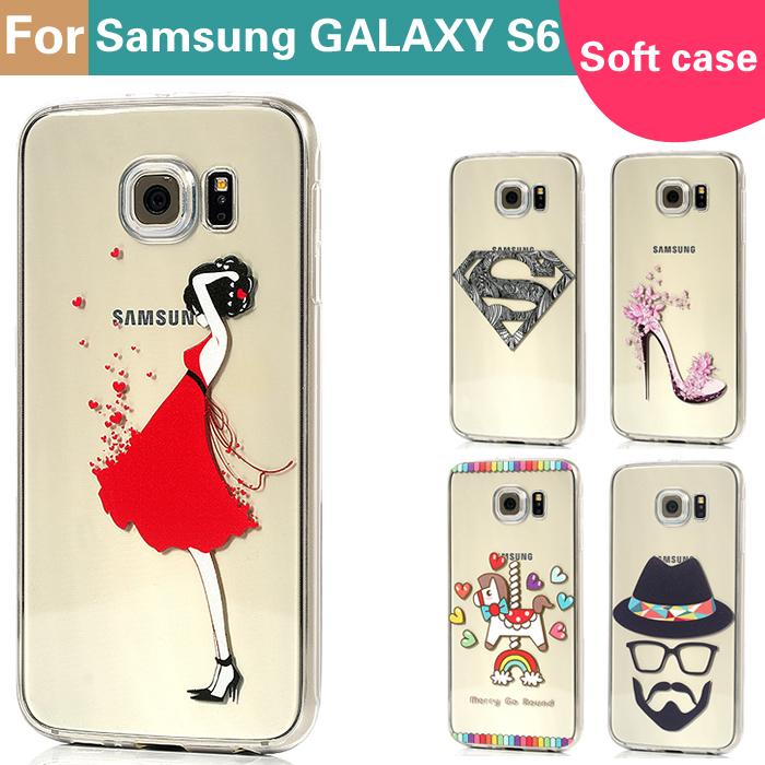 Transparent edge ultra thin tpu soft case for Samsung Galaxy S6 G9200 G920f G920i G920A G920K