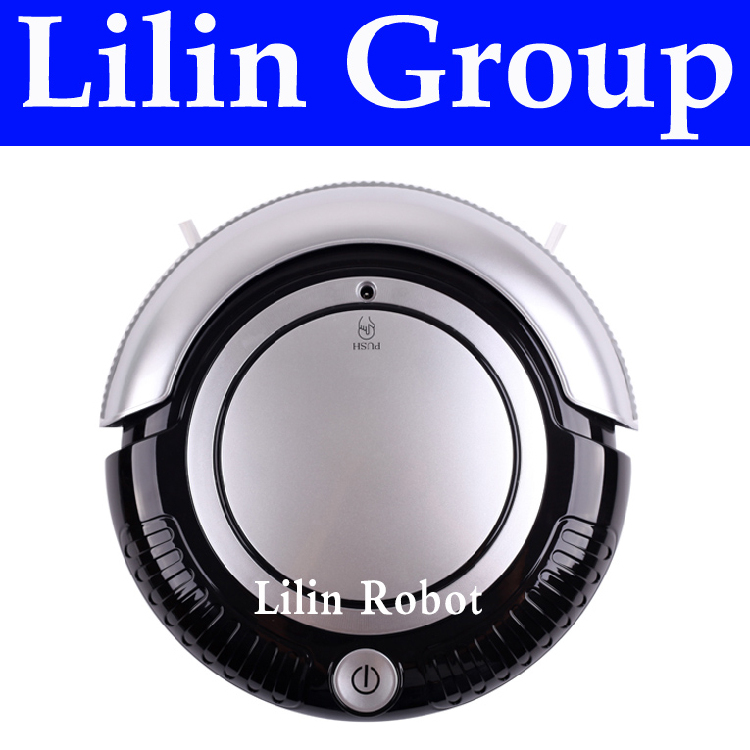 3 in 1 Mini Robot Vacuum Cleaner (Vacuum, Sweep, Mop) , Removable 2 Side-brushes, Beautiful Flashing LED Lights,3 Working Modes(China (Mainland))