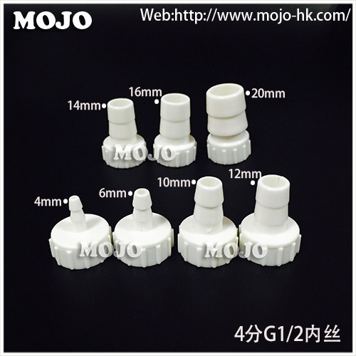 Free shipping!(10pcs/Lots) MJ-8-G1/2L straight female connector 8mm to G1/2