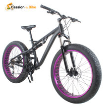 passion ebike 24 Speed Aluminum Alloy Full Shockingproof Fat Bike for Bicycle Hydraulic Disc Brake(China (Mainland))