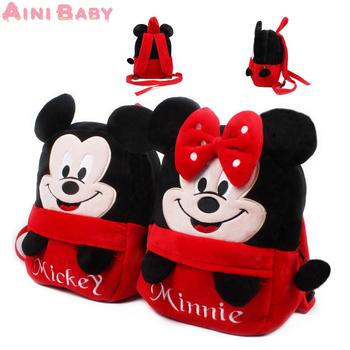Микки и минне малыш мешок рюкзак дети школа мешок для девочка мальчик студент школа рюкзак Mochila Infantil