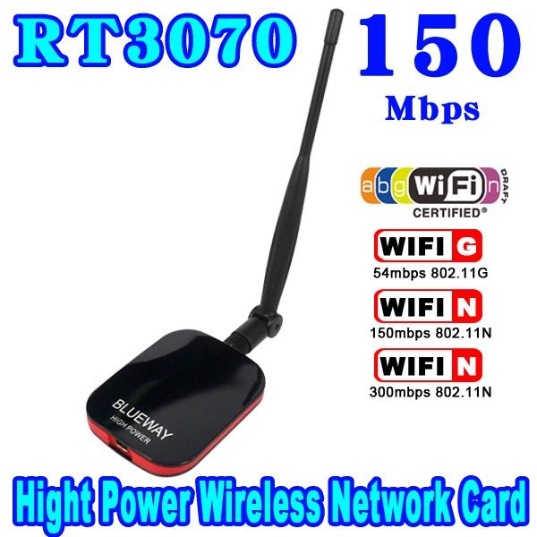 2015 Mini N9000 Wireless USB WiFi Adapter 150Mbps Long Range Network Internet Card Ralink High Power Speed 2000MW + CD Beini(China (Mainland))