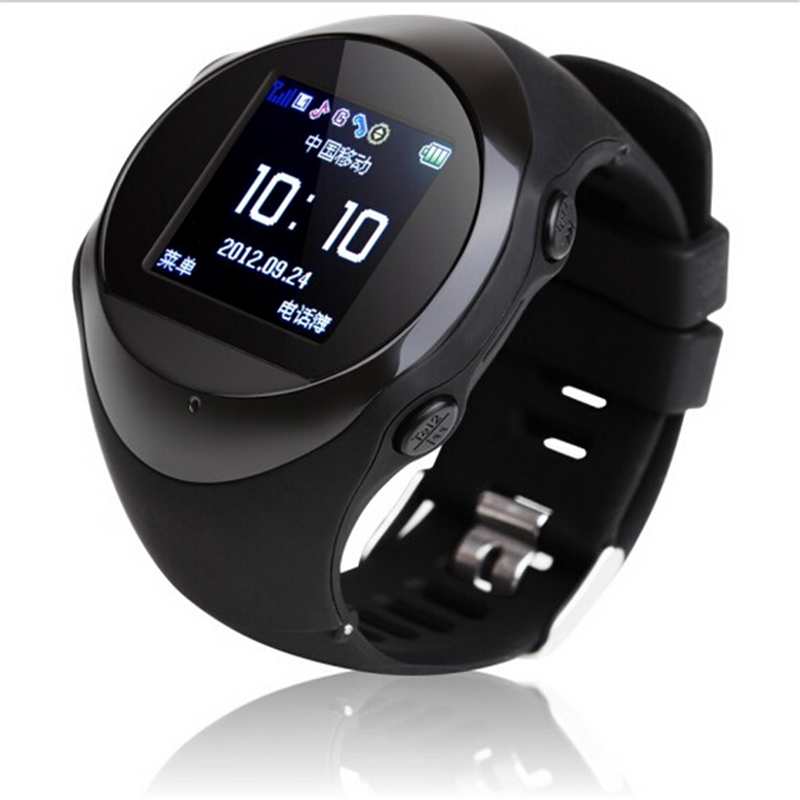 New Real-time GPS tracker PG88 watch with SOS SIM GSM GPRS Tracking & Anti-lost device sync mobile phone for kids/old man(China (Mainland))