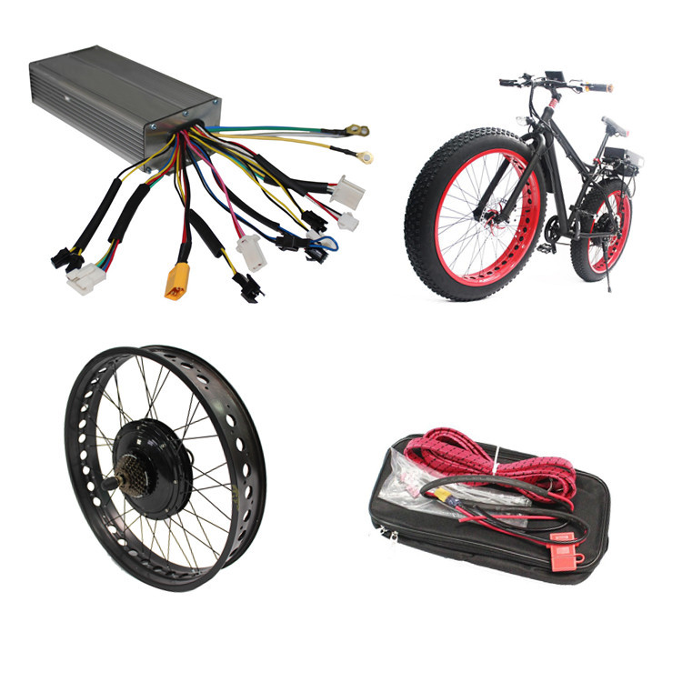 48V 1000W Electric Bike Conversion Kit High Quality 12 MOSFET26A Sine Wave Controller China Electric Bicycle Motors For Bikes(China (Mainland))