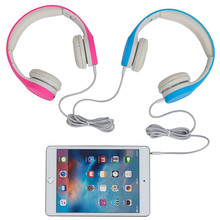 Hisonic Children Headphone Foldable Child Earphone Headphone Headset Wire Control Wired Phone Headphone with Microphone TM-690
