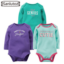 Baby Bodysuits Boys Girls Baby Clothing Set Carters Original Infant Jumpsuits Winter Overalls Cotton Coveralls Cartoon Wear(China (Mainland))