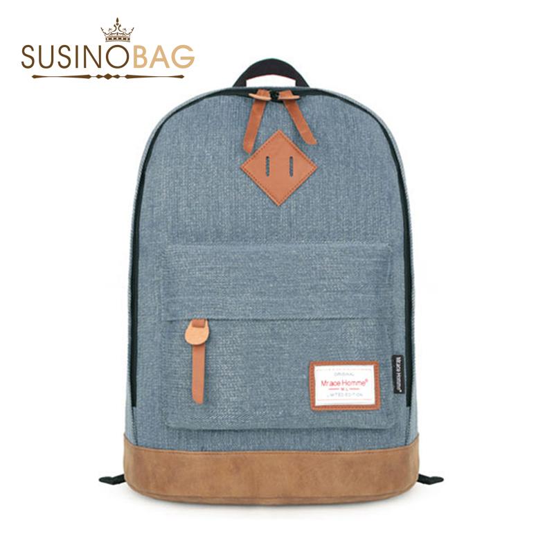 Hot Backpack Canvas Backpacks School Bags For Lovers Durable School Bags For Teenagers Casual Women Backpack Mochila Feminina