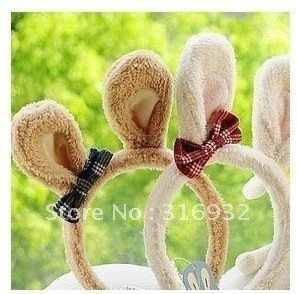 G4 Le sucre rabbit plush hair hoop, gift for kids gift,free shipping