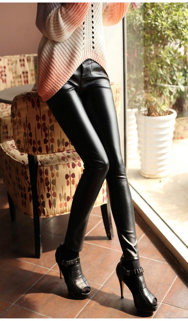 Женские брюки China Pu 123 женские брюки solurein s22v24 2014 pu