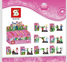 8pcs SY156 Super Heroes Princess Minifigures Girl Friends Stephanie Mia Emma Olivia Andrea Figures Toys compatible with lego