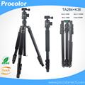 Professional Portable Photographic Travel Compact Tripod ball head Monopod For DSLR Camera Aluminum SLR camera stand