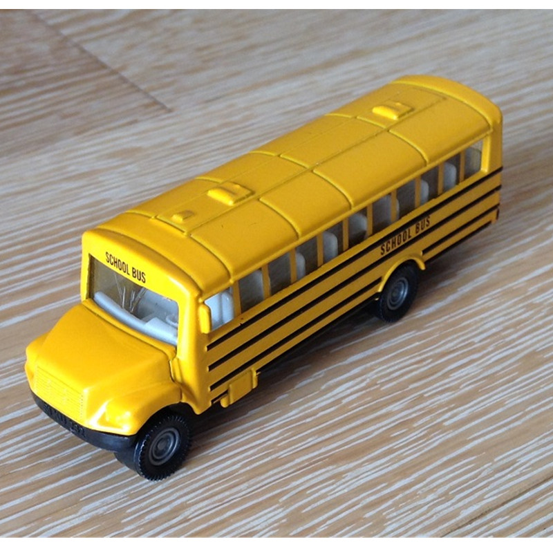 SIKU WJ-CM-006 Cute small school bus Alloy car model children's toy bus alloy car model child toys kidds cars toys kid gifts(China (Mainland))