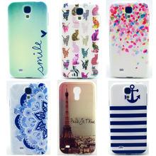 Back Case Cover For Samsung Galaxy S4 mini I9190 Unique Print Plastic Soft Silicon Slim TPU Shell For S 4 IV Mini duos plus 9190(China (Mainland))