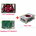Raspberry Pi 3 Model B Board 3 5 TFT LCD Touch Screen Display Clear Case