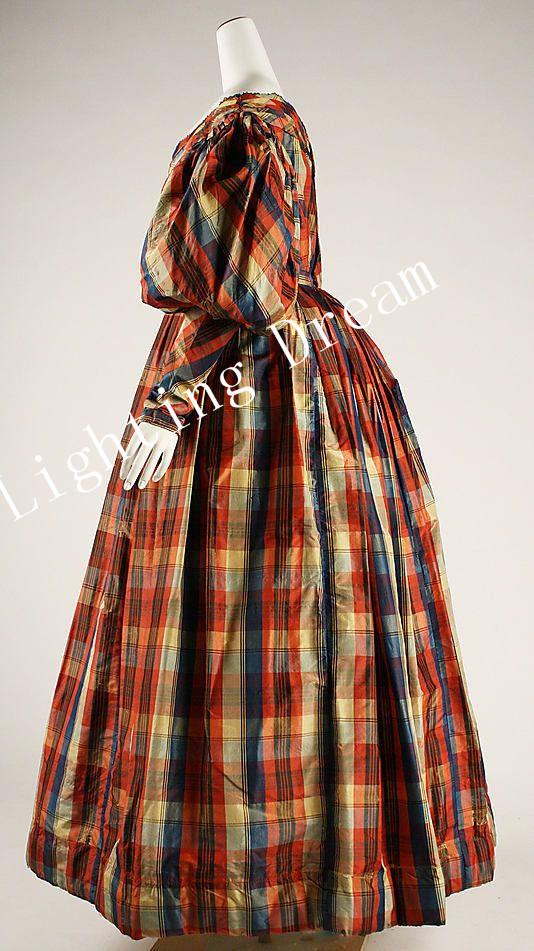 Culture Dress Dress 1830 Culture British