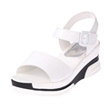 2017 Summer shoes woman Platform Sandals Women Soft Leather Casual Open Toe Gladiator wedges Trifle Mujer