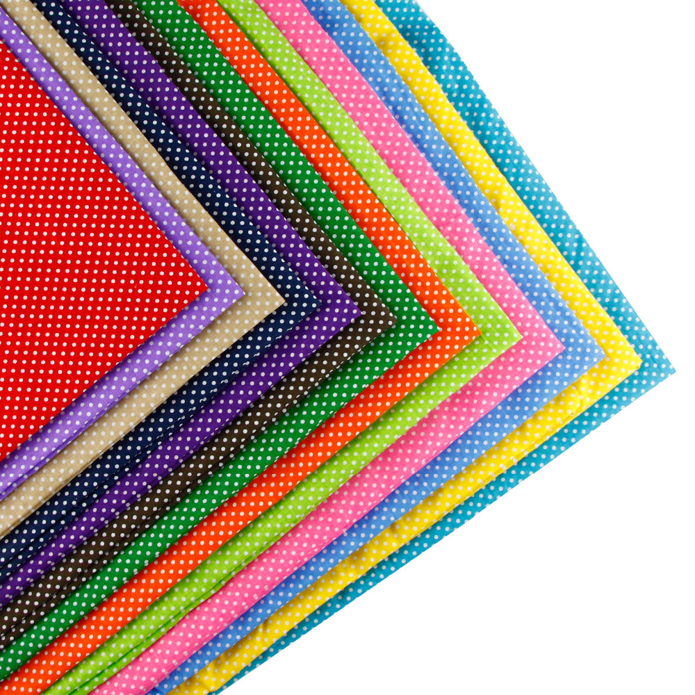 160cm x 1 meter Point dot Print Plain Cotton Fabric for Home Textile Patchwork Quilted Fabrics(China (Mainland))
