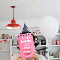 Korean Cute Party Hats Birthday Hat Festive Party Photograph Birthday Party Decorations Kids Wedding Decoration