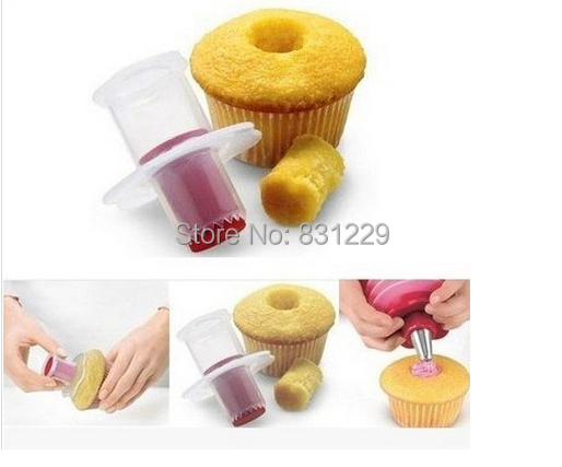 2015 Styling Tools Eco Friendly Cake Tools Cupcake Plunger Cutter Creative Diy Cake Corer